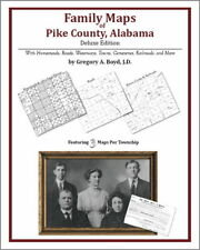 Family Maps Pike County Alabama Genealogy Plat History