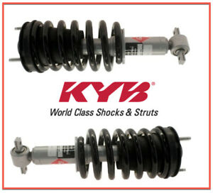 2 Suspension Strut and Coil Spring Assemblies KYB Front L & R