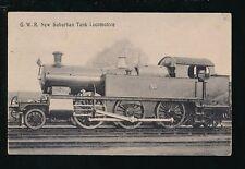 Railway GWR New Suburban Tank Locomotive #99 Used 1905 PPC
