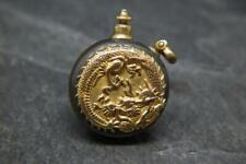 Best Antique Meiji Era Japanese Shakudo Ware Miniature Scent/Perfume Bottle