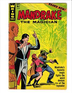 Mandrake the Magician #1 King Comics 1966 VG 4.0