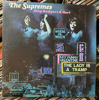 The Supremes Sing Rodgers and Hart -1967 Vinyl LP Reissue - H-1455-3