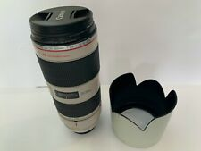 New listing Canon 70-200mm F/2.8L Is Ii Usm Telephoto Zoom Lens