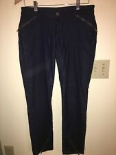 David Kahn Los Angeles Siouxsie Ankle Jeans RN# 53222 Blue Size 29 Inseam 27