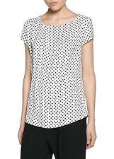 Woman print top,blouse size S UK 8 new,mango