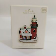 NEW Hallmark Ornament LIGHTHOUSE GREETINGS 12th in the series 2008 Magic Series