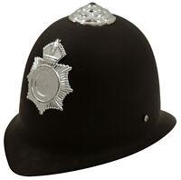 CHILDRENS KIDS POLICE POLICEMAN HELMET HARD HAT BOYS GIRLS FANCY DRESS H02 275