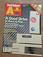 Apple II Computer InCider A+ Magazine July 1990 Jack Nicklaus Golf Course Disk