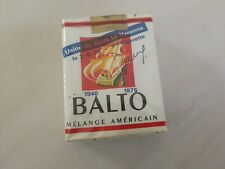 Rare Ancien paquet de cigarettes collection BALTO sous blister