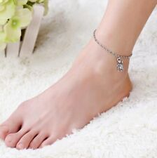Pendant Anklet Silver Plated 65-9 Women's Fashion Jewelry Animal Turtle