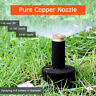 1/2x360°Versenk Regner Pop-Up Sprinkler Jet Kopf Versenkbar Garten Rasensprenger