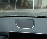Chrome Dashboard Speaker Frame Cover Trim for BMW X5 F15 14-17 X6 F16 F86 15-17