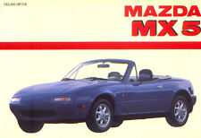 Mazda MX 5  - First Generation