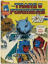 TRANSFORMERS #192; GD/VG, Marvel UK 1988; Comic Comics Ca$h & Car-Nage!