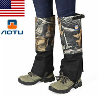 Outdoor Waterproof Leg Gaiters Cover Jungle Pest Control Unisex Leg Cover