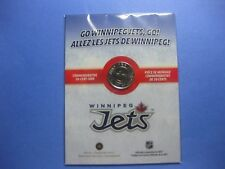 2012 50cent Nickel-Plated Coin - Winnipeg Jets