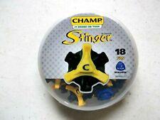NEW Champ Scorpion Stinger Soft Golf Spikes Fits Tri-Lok (18 Soft Spikes)