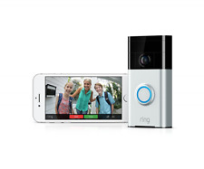 Ring Video Door Bell, Stick Up Camera and Ring Floodlight Camera System BUNDLE
