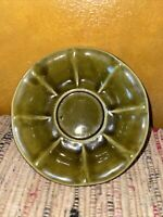 Vintage McCoy Olive Green Shaded Bowl