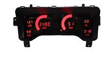 1997-2006 Jeep TJ Digital Dash Panel Red LED Gauges Lifetime Warranty