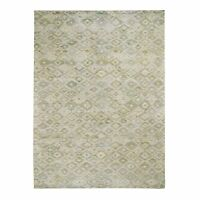 "8'10""x12'1"" THE PASTEL COLLECTIONSilk With Textured Wool HandKnotted Rug G48538"