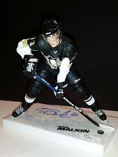 EVGENI MALKIN Penguins Autographed AUTO Signed Series 17 Mcfarlane Figure JSA