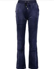 Navy Blue Juicy Couture Sport Velour Joggers / Tracksuit Bottoms