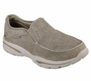 Skechers Men's Relaxed Fit Creston Moseco Slip On Memory foam Shoes 65355