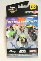 Disney Infinity 3.0 Toy Box Speedway Expansion Game Disc - NEW SEALED SHIPS NOW