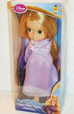 Disney Store Rapunzel Tangled Animator Doll First Edition Night Dress in Box