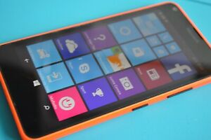 Microsoft Lumia 640 LTE 8GB Smartphone - Black - Orange