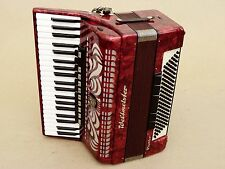 Very Nice Accordion Weltmeister Caprrice 120 bass Including Case