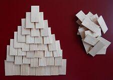 1000  Holzschindeln/Dachschindeln  40x19 Vogelhaus- Krippe-Modellbau