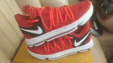 Nike ZOOM KD 10 Red Velvet 897815-600 SZ 10.5 air max 97 1 jordan xii xiii xi iv