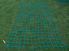 8x 4ft Strong cargo rope scramble net 4treehouse fort playset fun climbing frame