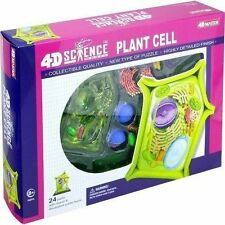 4D MasterScience Plant Cell Anatomy Model Science Kit Learning Toy Set 26701 New