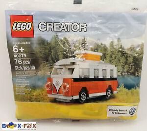 LEGO® 40079 Mini VW T1 Bus Camper Van Creator Polybag NEU
