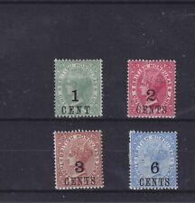 British Honduras QV 1888 SG 36/39 Mounted Mint