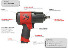 """Chicago Pneumatic 1/2""""dr Composite Impact Wrench Massive 1250nm CP7748P Quality"""
