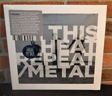 THIS HEAT - Repeat / Metal, Limited SLATE GREY COLORED VINYL LP New & Sealed!
