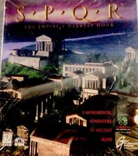 SPQR The Empire's Darkest Hour PC Computer Game 1996 Shrink Wrapped