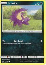 Pokemon Sun & Moon Ultra Prism Card: Stunky - 75/156