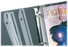 108 sets of 12 Baumgartens Magazine Holders/Protectors for 3-Ring Binders