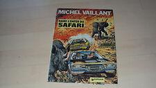 BD  MICHEL VAILLANT  n° 27,  dans l'enfer du safari