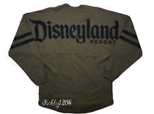 Disney Parks Dlr Disneyland Resort Olive Green Spirit Jersey Adult Small S Bnwt