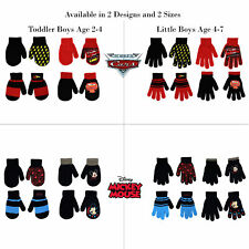 New Paw Patrol Nickelodeon Kids boys Youth Hat and 1 Pairs of Mittens Glove