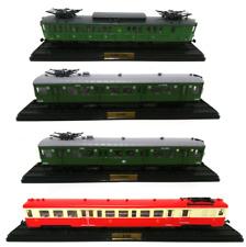 Lot de 4 Automotrices des Réseaux Français SNCF Ho 1//87 Train Locomotive LAM5