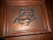 Sagittarius Horoscope Copper Wall Art with Patina, 10 x 12 in.