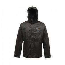 Regatta Wilbur Mens Waterproof Isotex 5,000 Active Fit Jacket Black Size XXXL