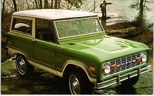 AUTOMOBILE ADVERTISING - 1975 FORD BRONCO Ranger Postcard